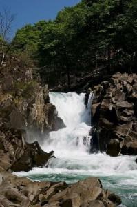 法体の滝 快晴 一の滝と二の滝の間 article_2 日々好々 20120521