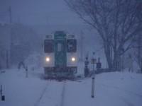 【2013:1:6 前郷駅 ryu-shikun1226の鉄道旅日記】