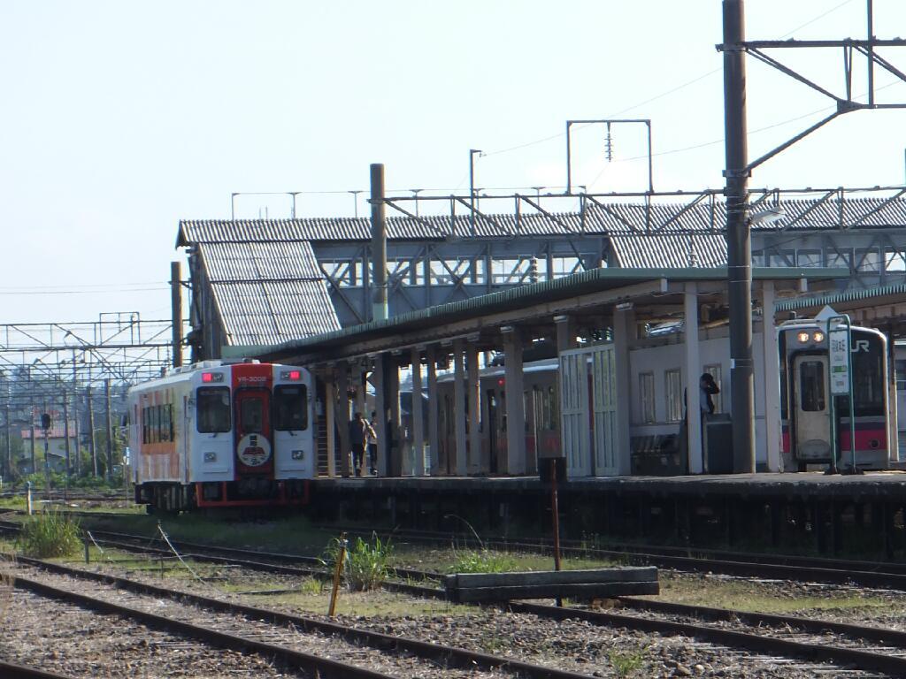 時刻表ヘッドマーク羽後本荘駅