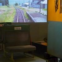 大鉄道展P1120970運転台と全面動画と座席
