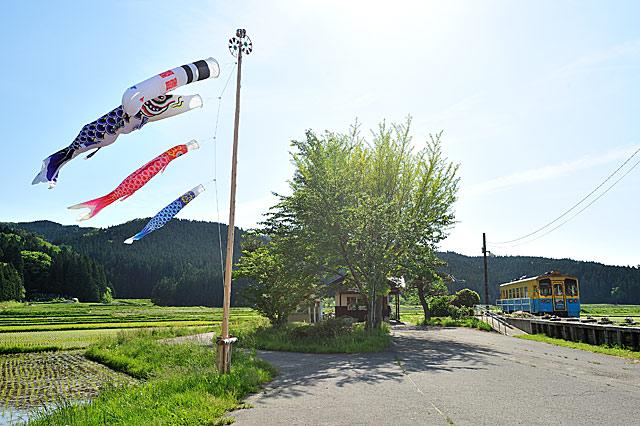2010年5月 由利高原鉄道 黒沢 大藪琢也