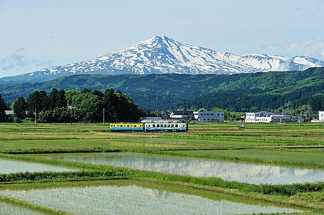 2010年5月30日 由利高原鉄道鳥海山ろく線 曲沢-前郷 大藪琢也