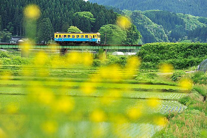 2010年5月29日 由利高原鉄道鳥海山ろく線 鮎川-子吉 大藪琢也
