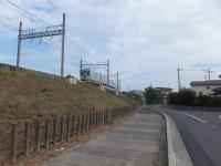 栗橋駅西口から右折