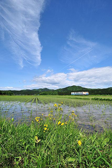 2010年5月 由利高原鉄道 吉沢-西滝沢 大藪琢也