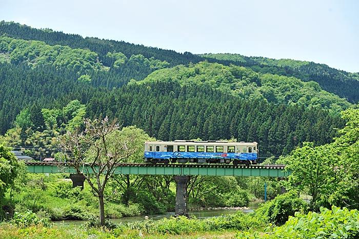 2010年5月30日 由利高原鉄道鳥海山ろく線 西滝沢-吉沢 大藪琢也