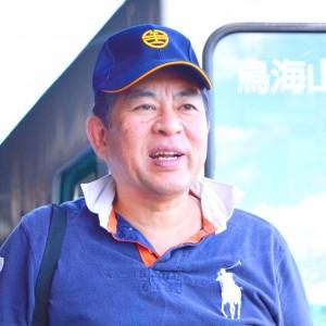 いとうかずみ氏 顔写真 130904   矢島駅-1 1307