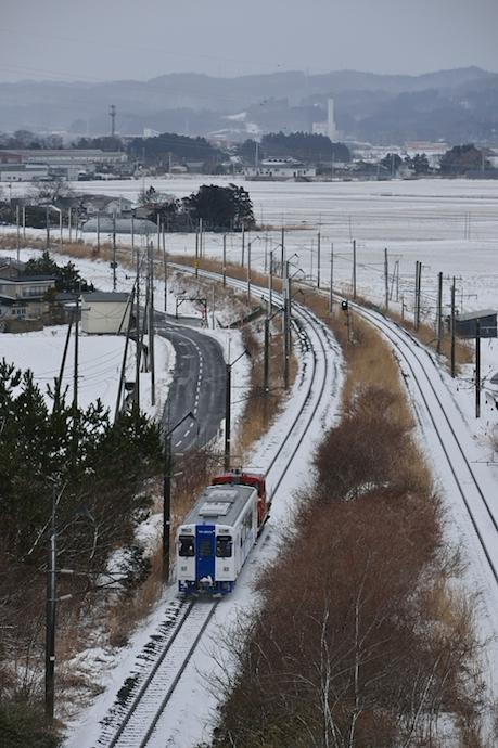 YR-3003甲種 船岡トンネル 50過ぎ撮り鉄