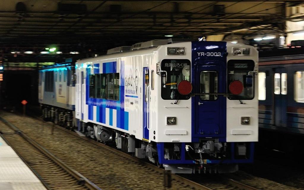 YR-3003甲種 武蔵野線 バロック鉄道員