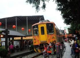 台湾鉄路管理局平渓線十分駅