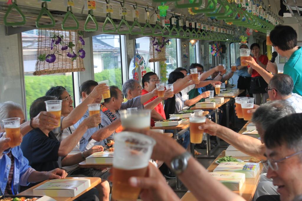 納涼ビール列車2017    由利高原鉄道