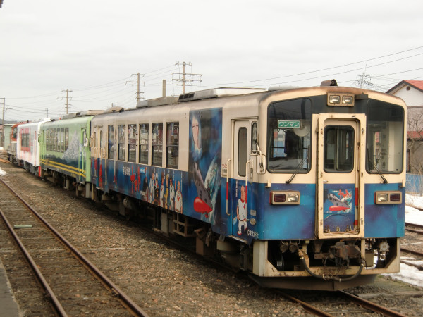 YR3002配給列車 ニホ発EF811撮り鉄修行中