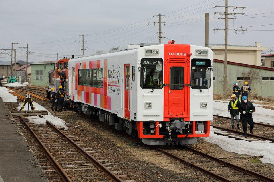 YR3000型羽後本荘駅到着 伊藤一巳