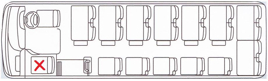 バス席27